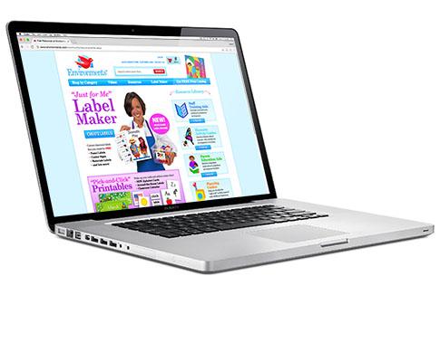 Label maker website miller design marketing for Website layout maker